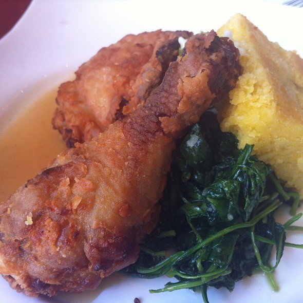 Fried Chicken And Cornbread - Market, St. Helena, CA