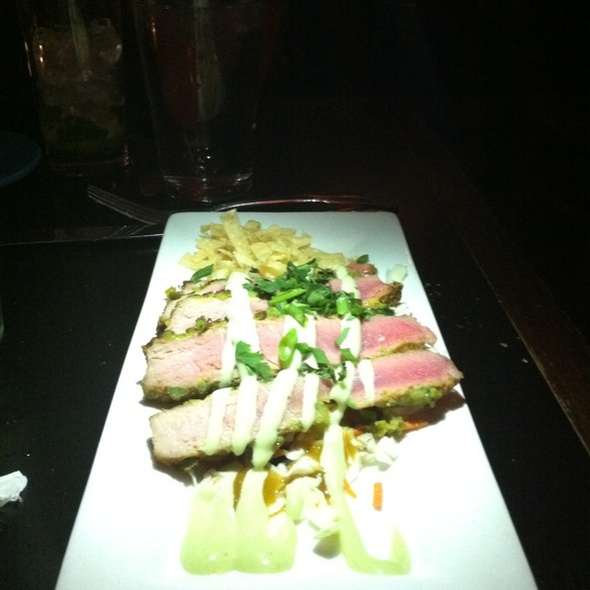 Wasabi Encrusted Tuna - Boogaloo - St. Louis, St. Louis, MO
