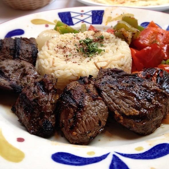 Lamb Souvlaki - Cafe Santorini, Pasadena, CA
