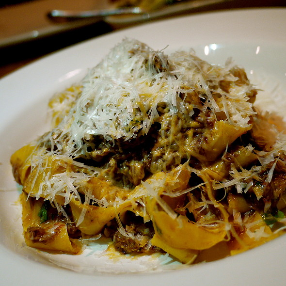 Braised Tomato Short Rib Pappardelle - Westside Tavern, Los Angeles, CA