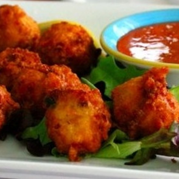 Conch Fritters - Southernmost Beach Cafe, Key West, FL