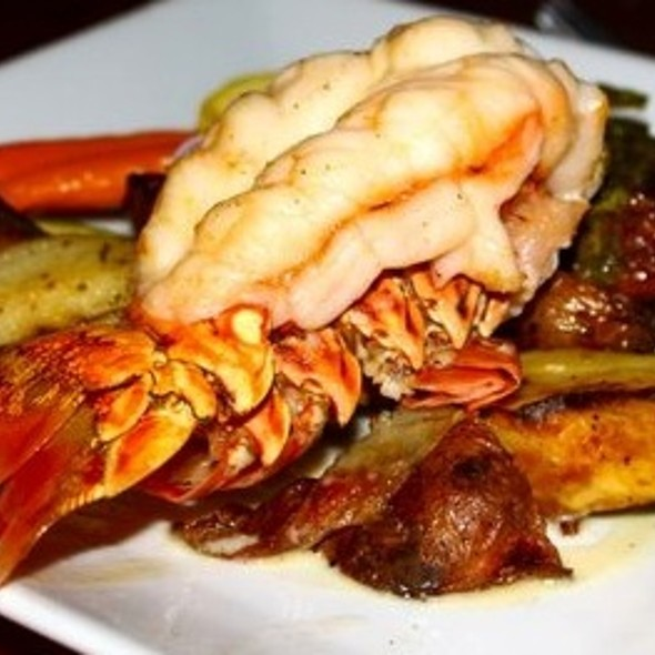 Lobster Tail & Flat Iron Steak  - Southernmost Beach Cafe, Key West, FL