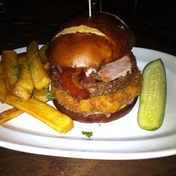 Backwoods Burger - de Vere's Irish Pub - Sacramento, Sacramento, CA