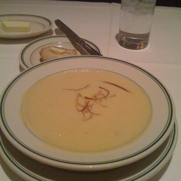 Potato Leek Soup - The Grill on the Alley - Chicago, Chicago, IL
