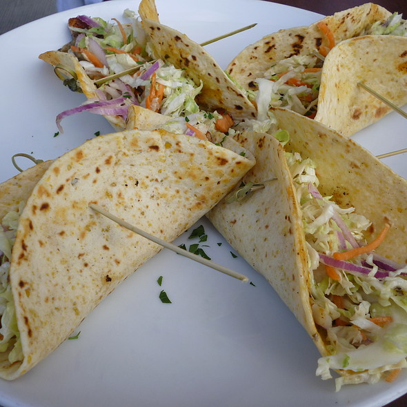 Grilled Salmon Tacos - Beach Cafe, Kirkland, WA