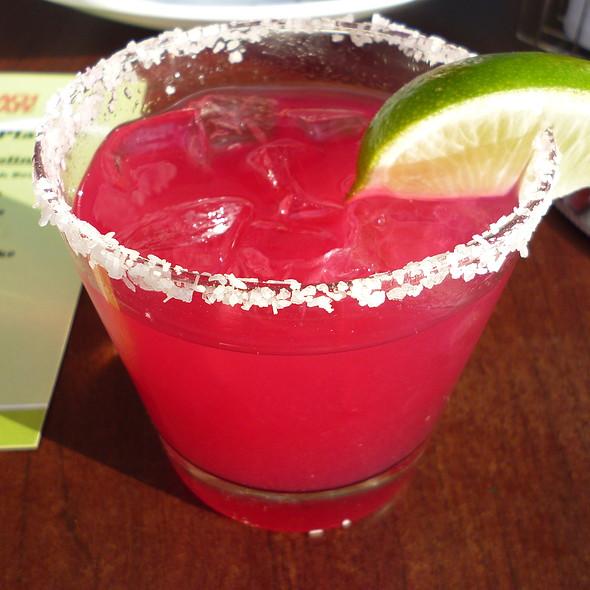 Tropical Prickly Pear Margarita - Beach Cafe, Kirkland, WA
