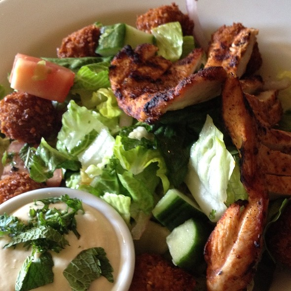 Chicken & Felafel Salad - Tabule on Yonge, Toronto, ON