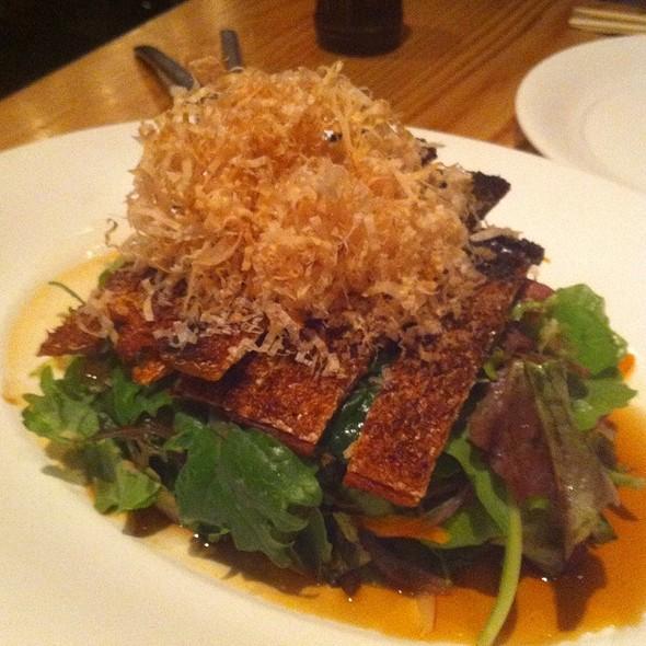 Crispy Salmon Skin Salad - Nobu Honolulu, Honolulu, HI