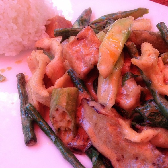 Chicken & Tofu Thai Curry - Fusha East, New York, NY