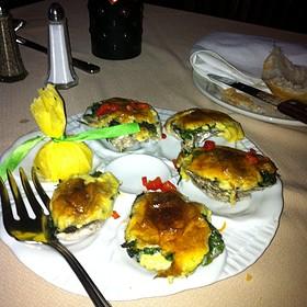 Oysters Rockefeller - Boulevard Steakhouse, Edmond, OK