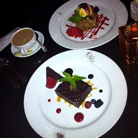 Brioche Bread Pudding - PAON Restaurant & Wine Bar, Carlsbad, CA