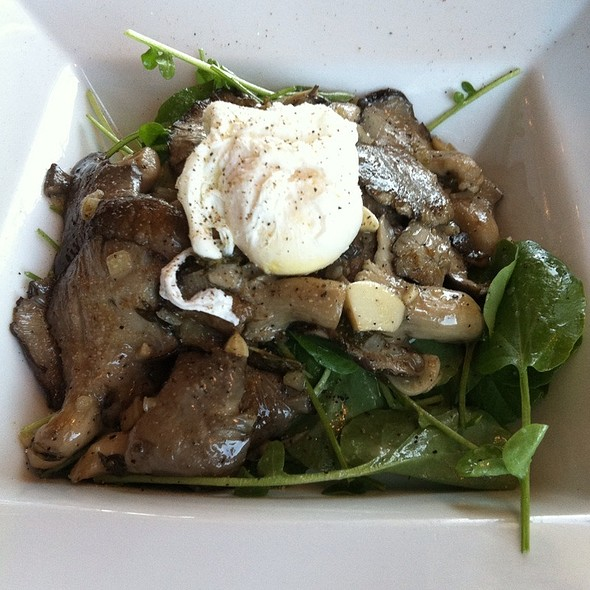 Mushroom Salad - West Restaurant at Hotel Angeleno, Los Angeles, CA