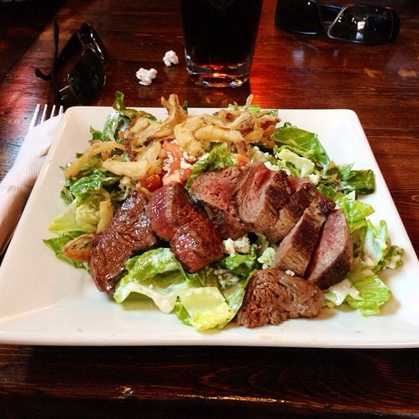 Steak And Blue Cheese Salad - 501 on Main, Park City, UT