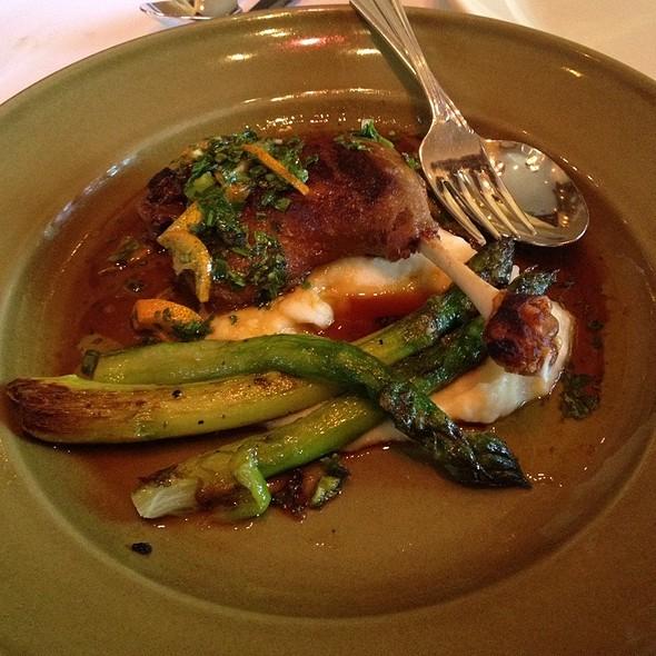 Duck Confit - Chez Panisse Cafe, Berkeley, CA