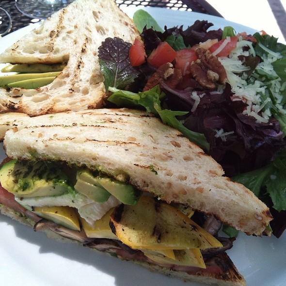 Grilled Veggie Sandwich - Gardens of Avila Restaurant, San Luis Obispo, CA