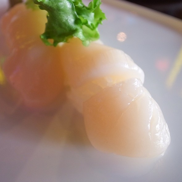 Scallop Sushi - Asuka Sushi, New York, NY