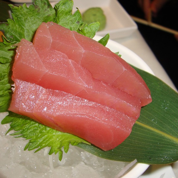Tuna Sashimi - The Blue Fish - Washington, Houston, TX