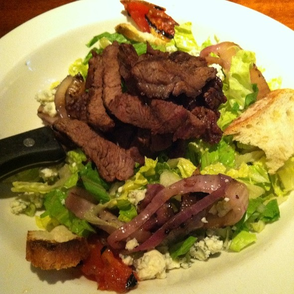 Steakhouse Panzanella Salad - Clyde's at Mark Center, Alexandria, VA