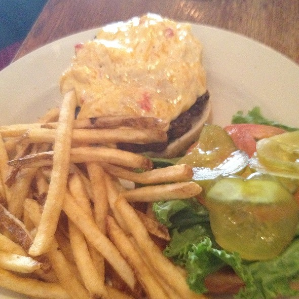 Puckett Burger With Pimento Cheese - Puckett's Historic Downtown Franklin, Franklin, TN