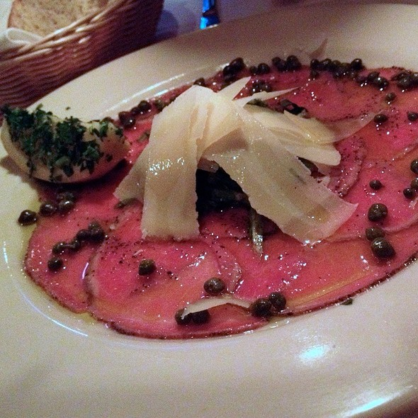 Carpaccio Di Bue - Gourmet Italia, Temecula, CA