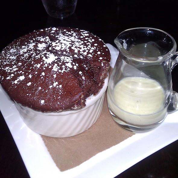 Chocolate Souffle - Bistro du Midi, Boston, MA