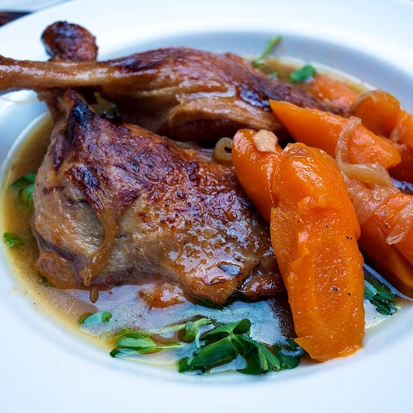 Roast duck legs - Hereford Road, London