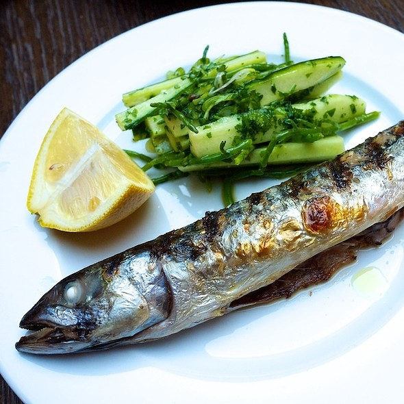 Grilled Mackarel - Hereford Road, London