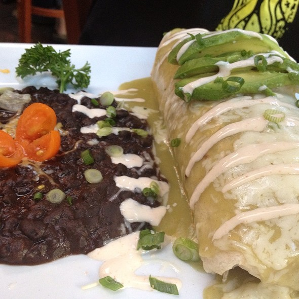 Blackened Chicken Burrito - Baja Cantina - Marina del Rey, Marina Del Rey, CA