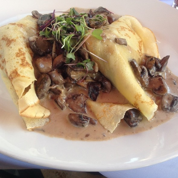 Crepe With Mushroom And Gruyere - Morels Steakhouse & Bistro - Las Vegas, Las Vegas, NV