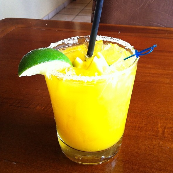 Mango Margarita - Paxia Authentic Mexican Cuisine, Denver
