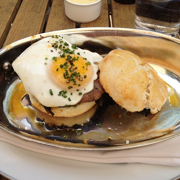 Biscuit Breakfast Sandwich - Blue Duck Tavern, Washington, DC