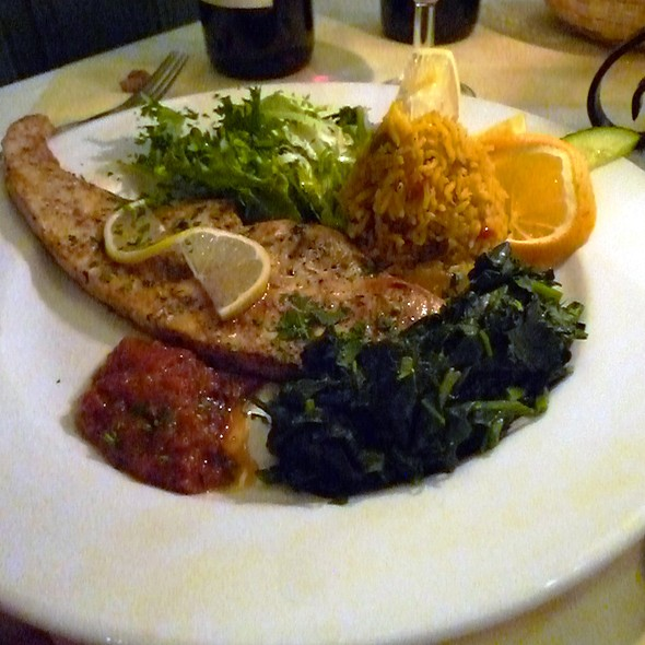 Grilled Fish - Adam's Café, London