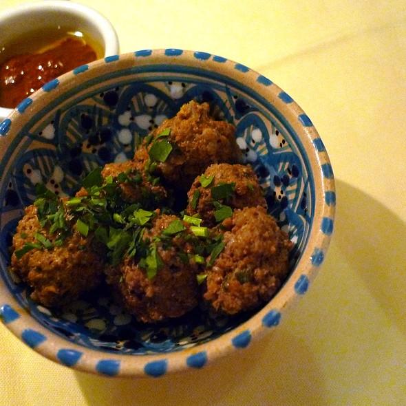 Meatballs - Adam's Café, London