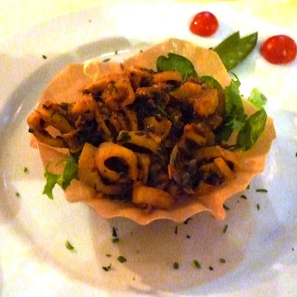 Calamari - Adam's Café, London