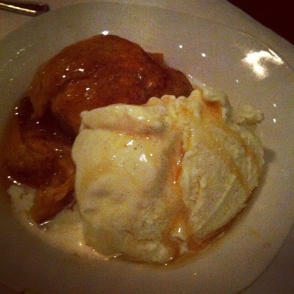 Baked Apple Dumpling - Macaroni Joe's, Amarillo, TX