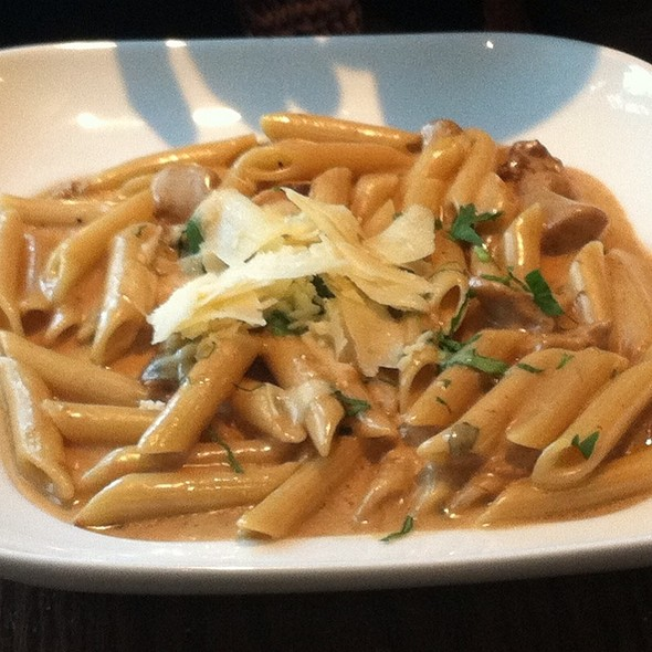 Penne Pasta With Porchchini Mushrooms And Truffel Sauce - Barbatella, Naples, FL