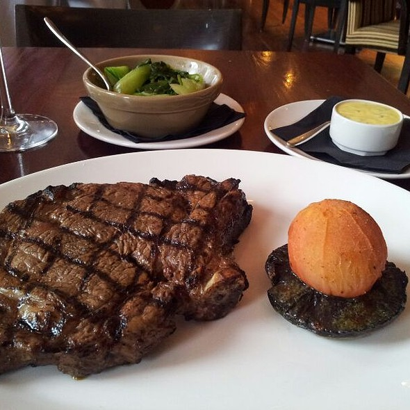 Bone-in Rib Eye - The Grill Room at the Square, Glasgow