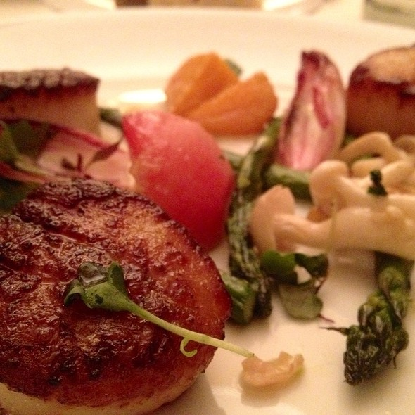 Scallops - Root 246 at Hotel Corque, Solvang, CA