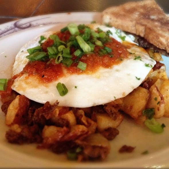 Chorizo Hash W/ Salsa Piccante, Eggs & Toast - Commissary DC, Washington, DC