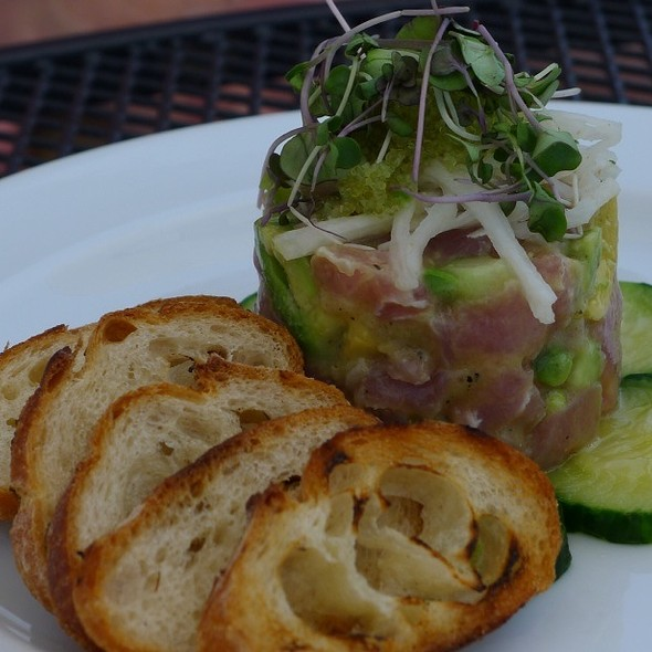 Tuna Tartare - Red Hat on the River, Irvington, NY