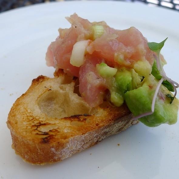 Spicy Yellowfin Tuna Tartar - Red Hat on the River, Irvington, NY