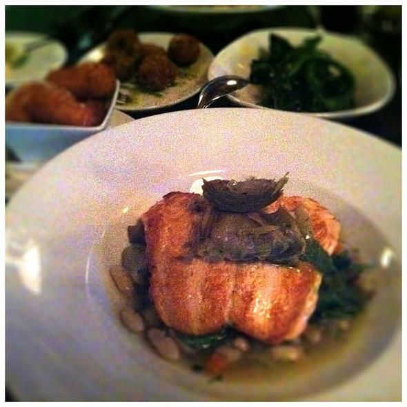 Faroe Island Salmon  - Tryst Restaurant, Arlington, MA