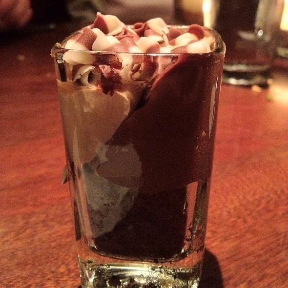 Chocolate Cake Shot Dessert - Seasons 52 - Schaumburg, Schaumburg, IL