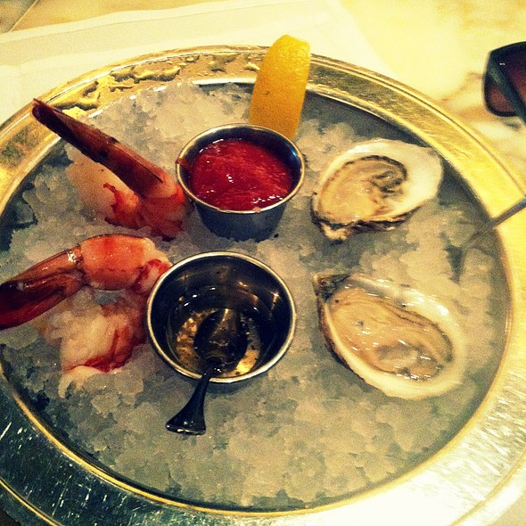 Oysters and Shrimp Cocktail - Eastern Standard, Boston, MA