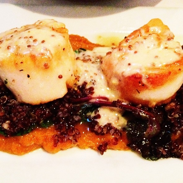 Scallops With Quinoa, Swiss Chard And Sweet Potatoes - Reina, Frederick, MD