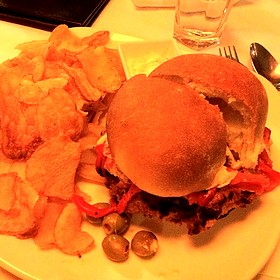 Chicken Milanesa Sandwich - Hermanos Restaurant, Winnipeg, MB