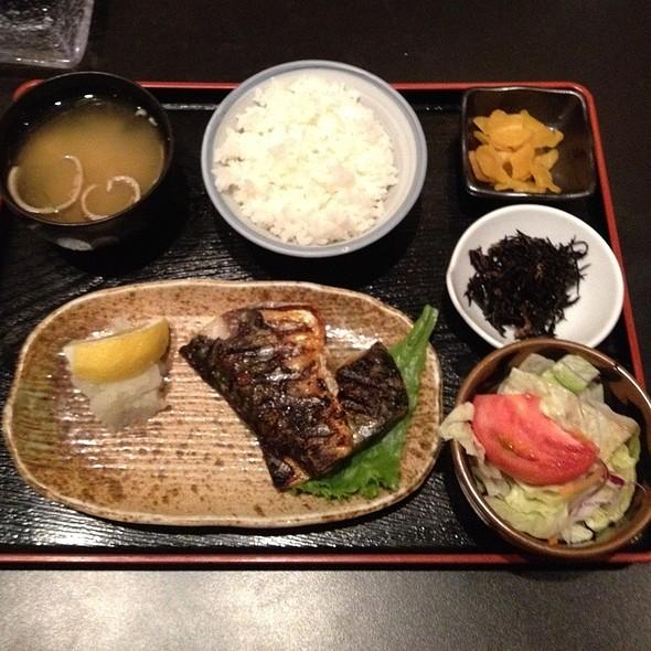 Yakizakana (Grilled Saba Fish) - Cocoro, Chicago, IL