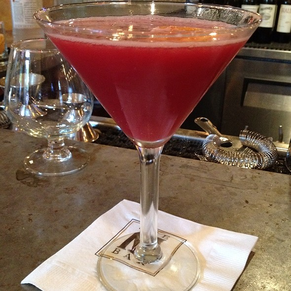 Blood Orange Cosmopolitan - MET Back Bay, Boston, MA