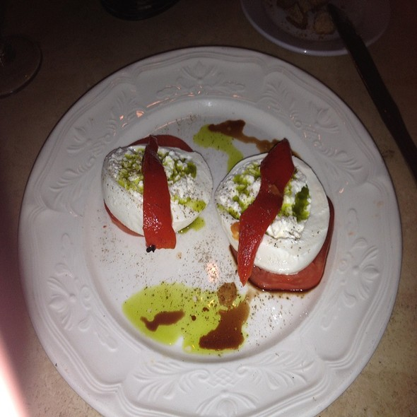 Mozzarella Di Bufala With Tomato And Balsamic - Bistro Seven Three, Bernardsville, NJ
