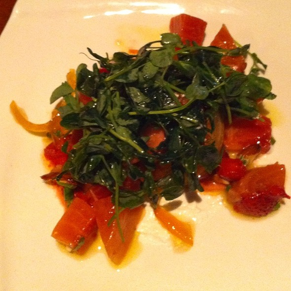 Beet Salad - Acre Restaurant, Chicago, IL